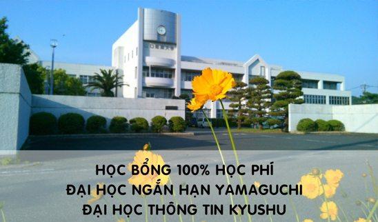 Học bổng 100% Đại học ngắn hạn Yamaguchi