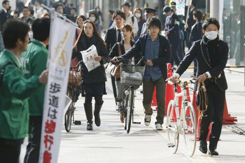 kiến thức đi xe đạp khi đi du học Nhật Bản