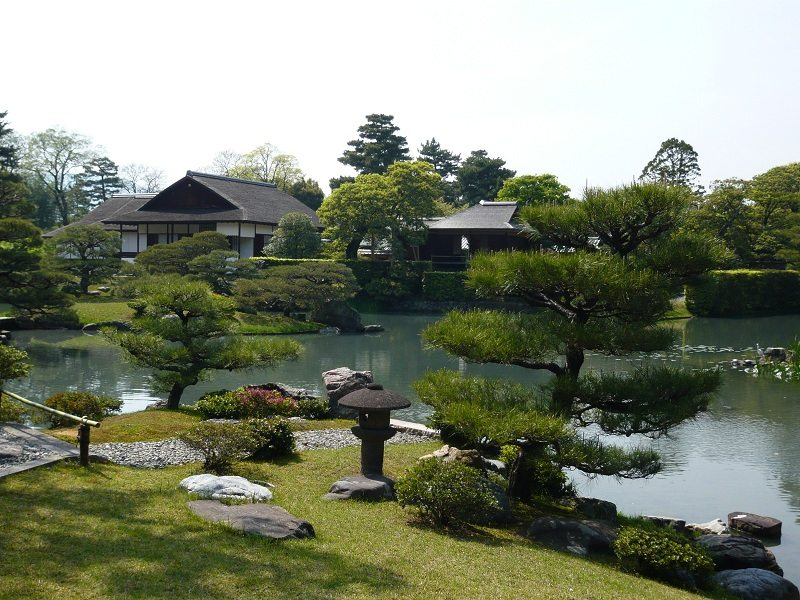 Hình ảnh khu vườn Hoàng gia Katsura Rikyu
