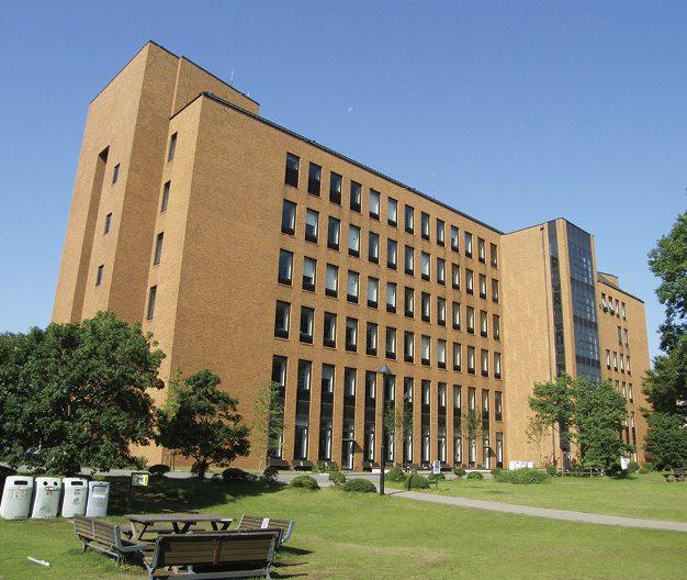 quang cảnh đại học Reitaku