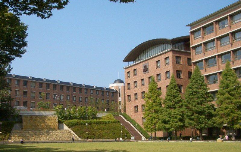 quang cảnh trường đại học Kansai