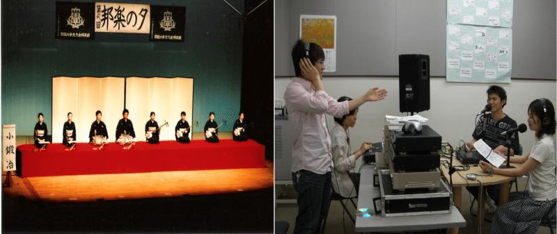 hoạt động của đại học Kansai
