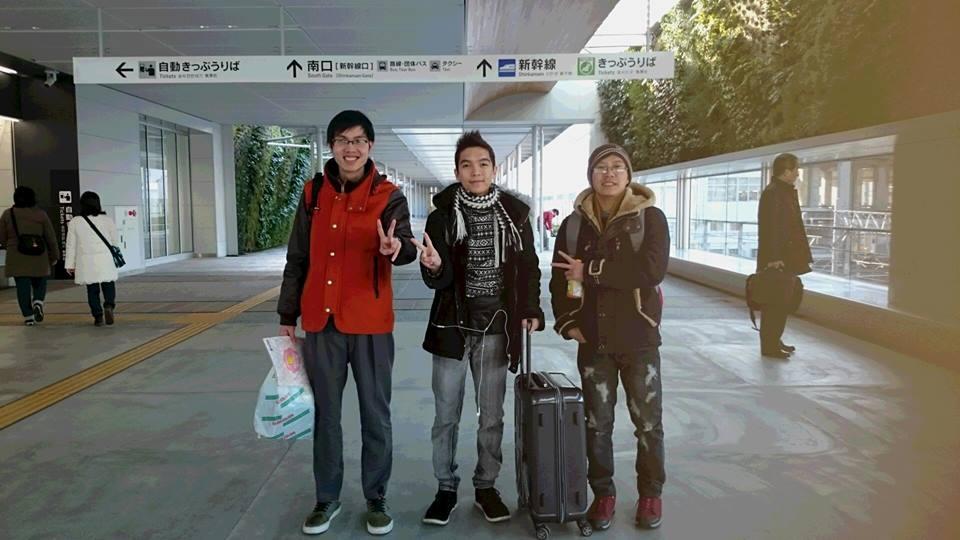 Vũ Đình Hơn và những người bạn của mình