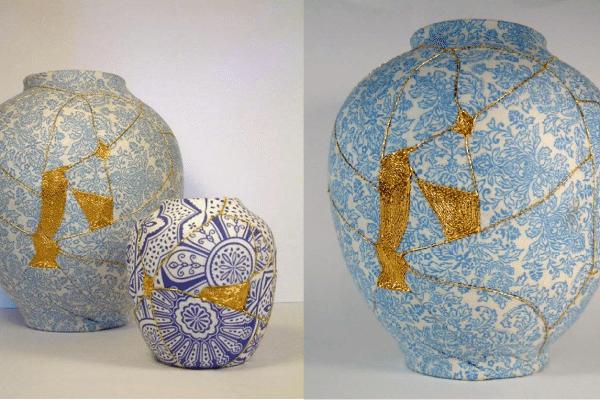 Nghệ thuật Kintsukuroi với cuộc sống của người Nhật