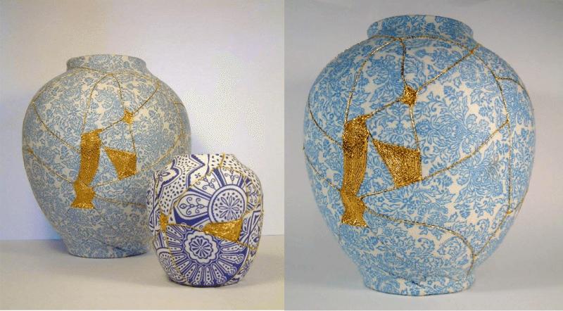 Nghệ thuật Kintsukuroi rất phổ biến tại Nhật