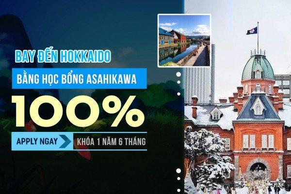 Học Bổng ASAHIKAWA & 6 Điều Bạn Không Thể Bỏ Lỡ Tại HOKKAIDO