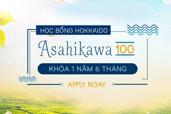 Học Bổng 100% – ASAHIKAWA 1 Năm 6 Tháng Đã Trở Lại